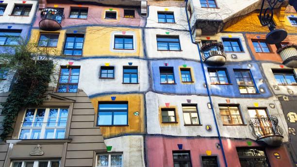 Hundertwasser-Haus, Wien, Österreich – Foto