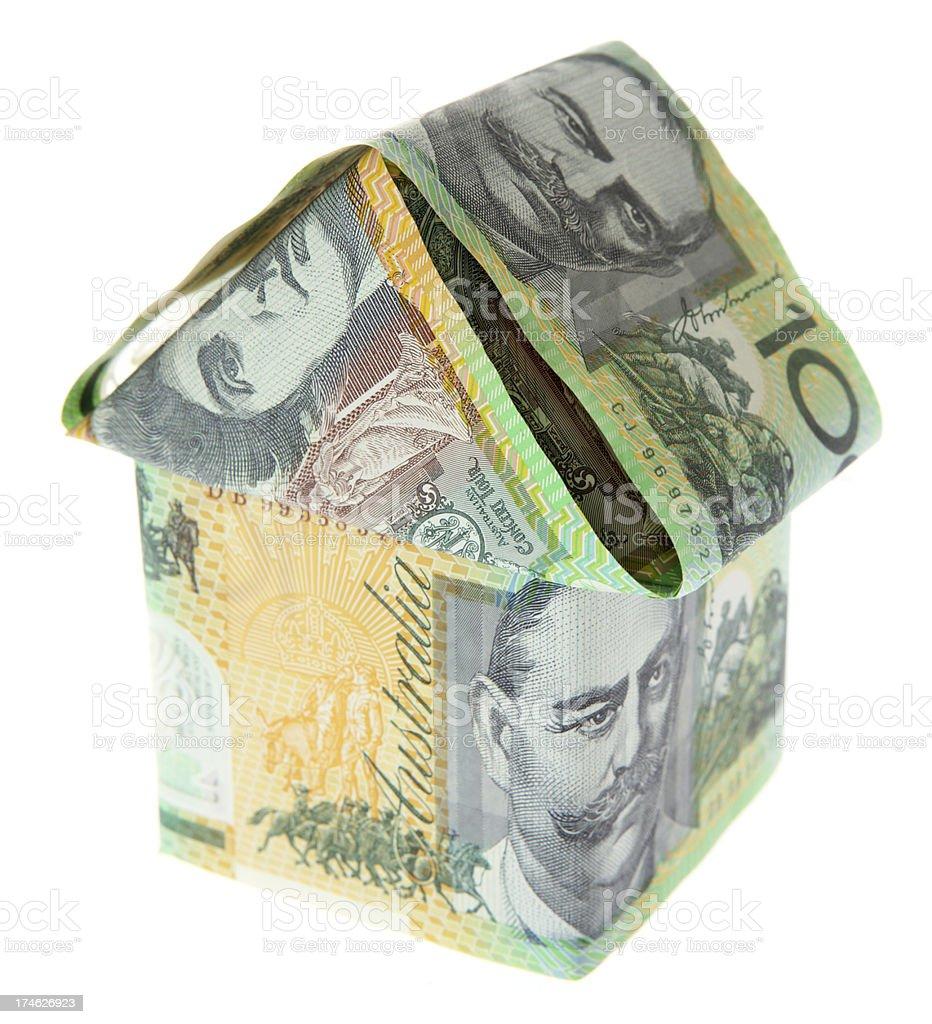 Hundred Dollar House stock photo