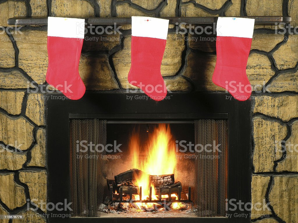 Hung by the Chimney stock photo