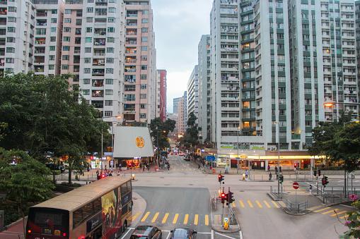 Hung Hom Hong Kong Chinese Community Stock Photo - Download Image Now