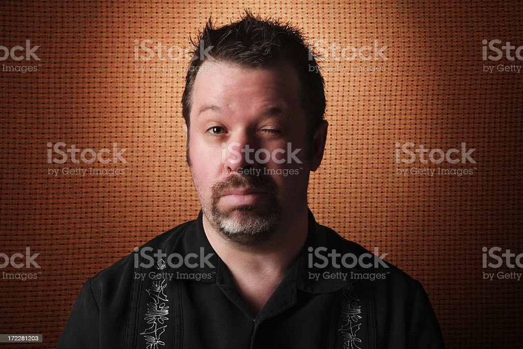 Hung Over royalty-free stock photo