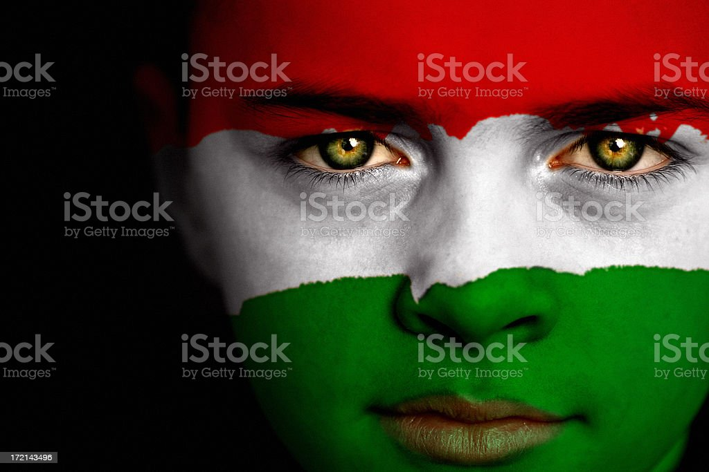Hungarian Boy stock photo