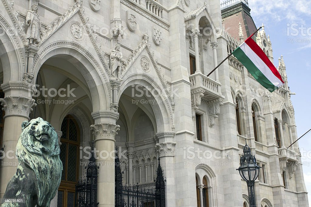 Hungarian flag royalty-free stock photo
