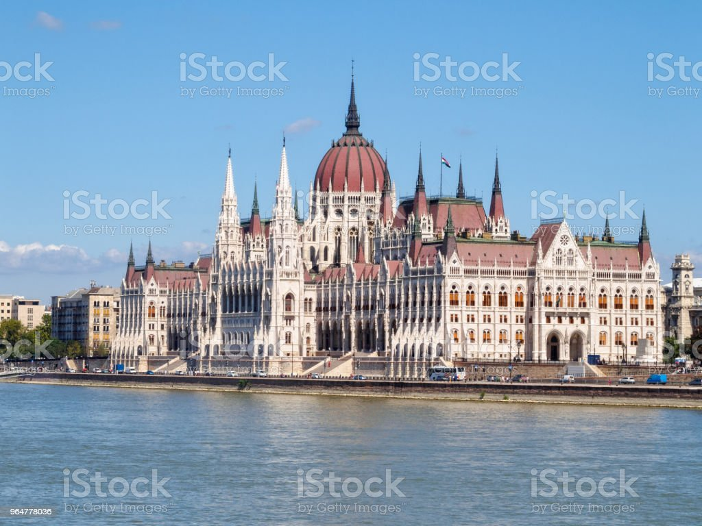Hungarian Parliament Building - Budapest royalty-free stock photo