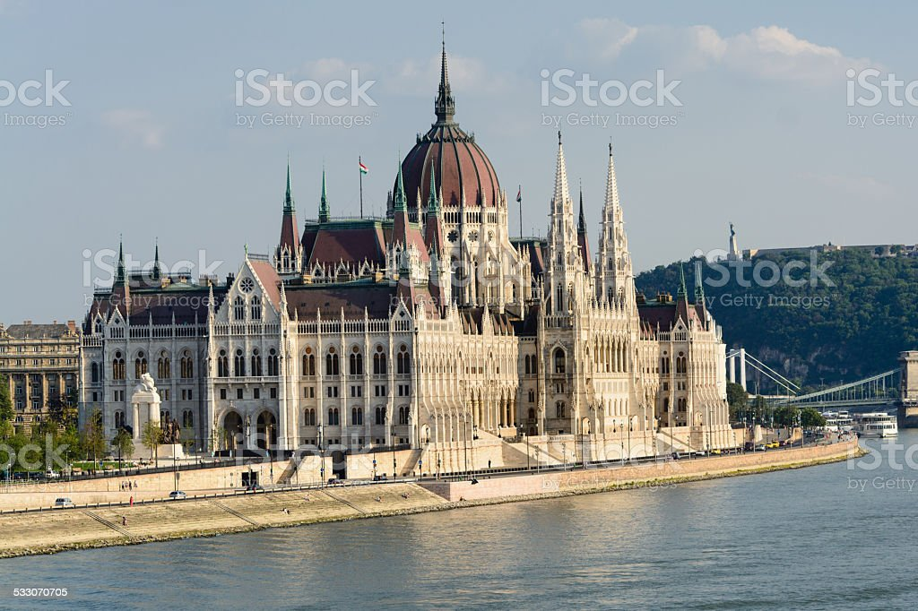 Parlamento húngaro foto royalty-free
