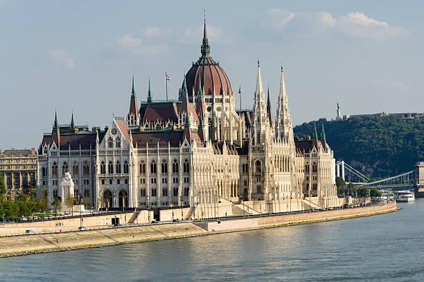 Parlamento húngaro - foto de acervo