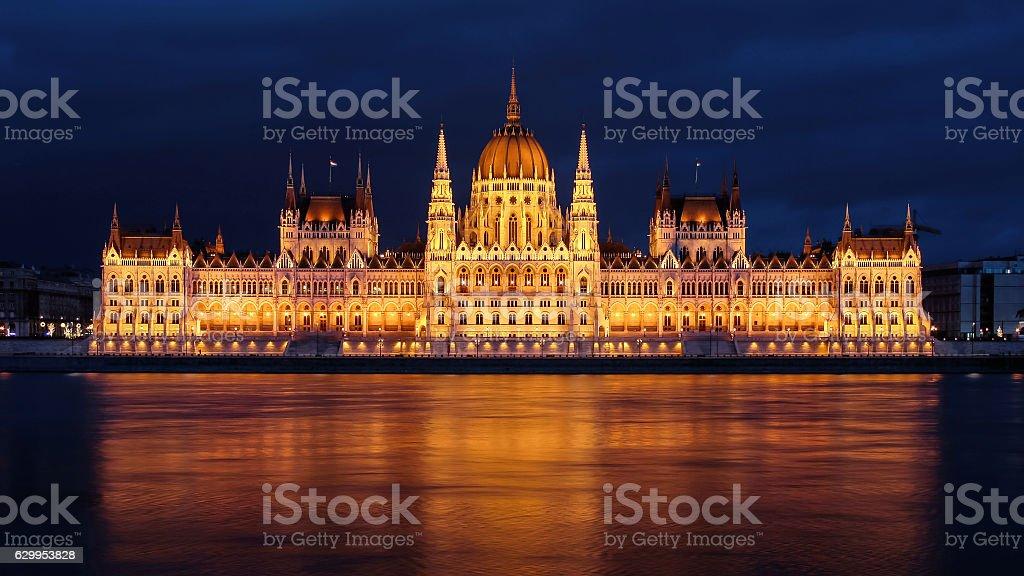 Hungarian Parliament foto