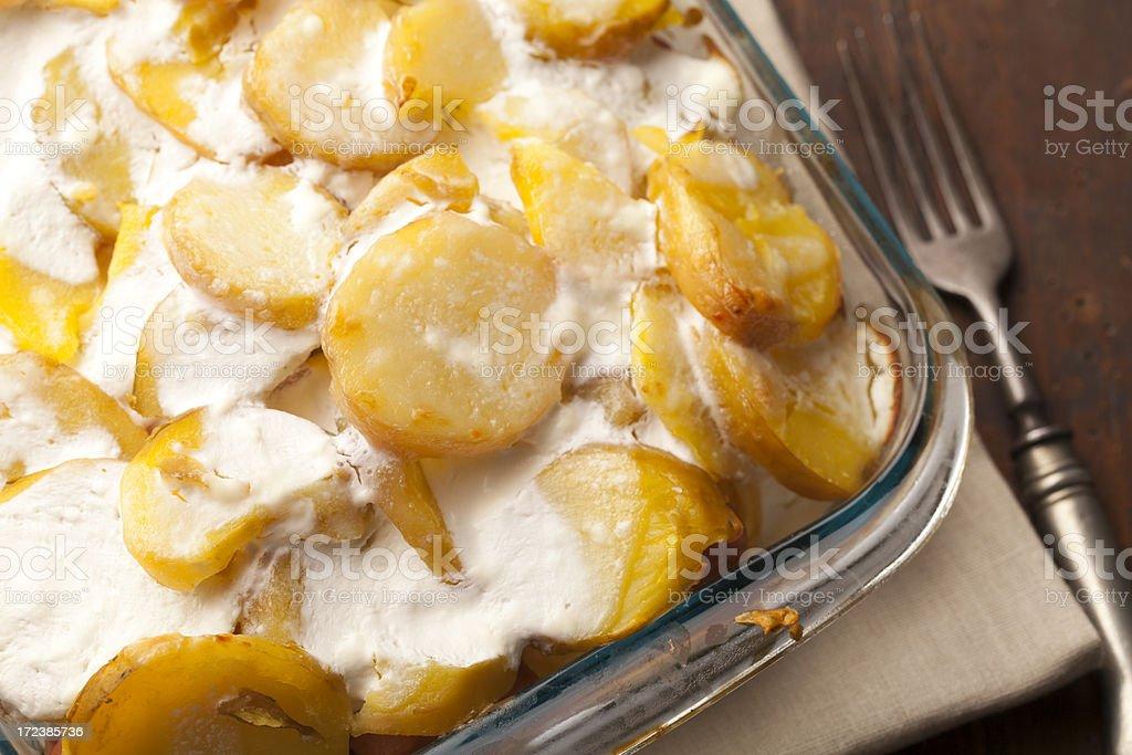 Hungarian Potato Dish royalty-free stock photo