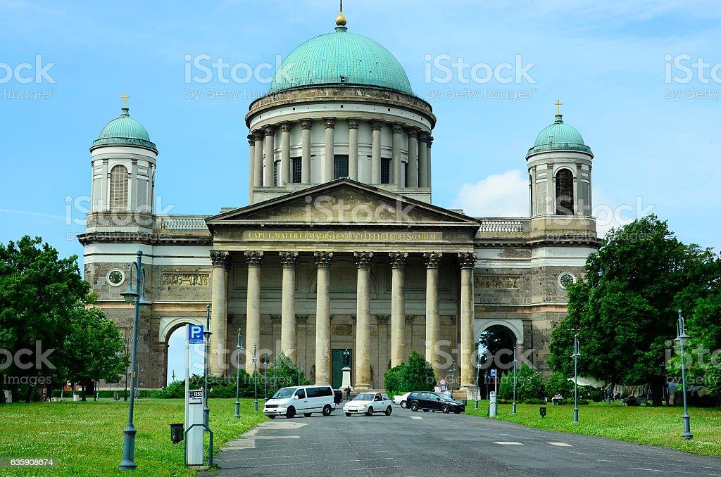 Hungary, Esztergom stock photo
