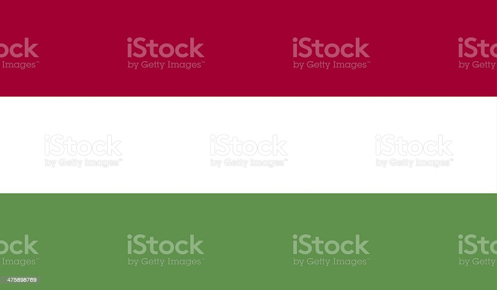 Hungary Flag stock photo