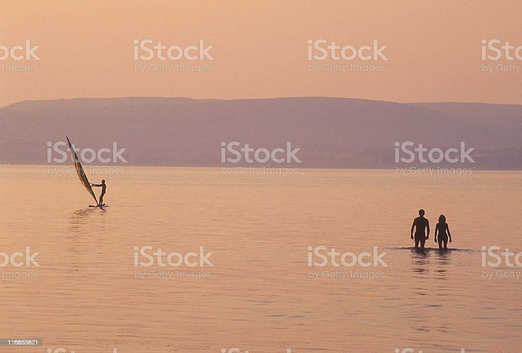 Hungary, Lake Balaton royalty-free stock photo