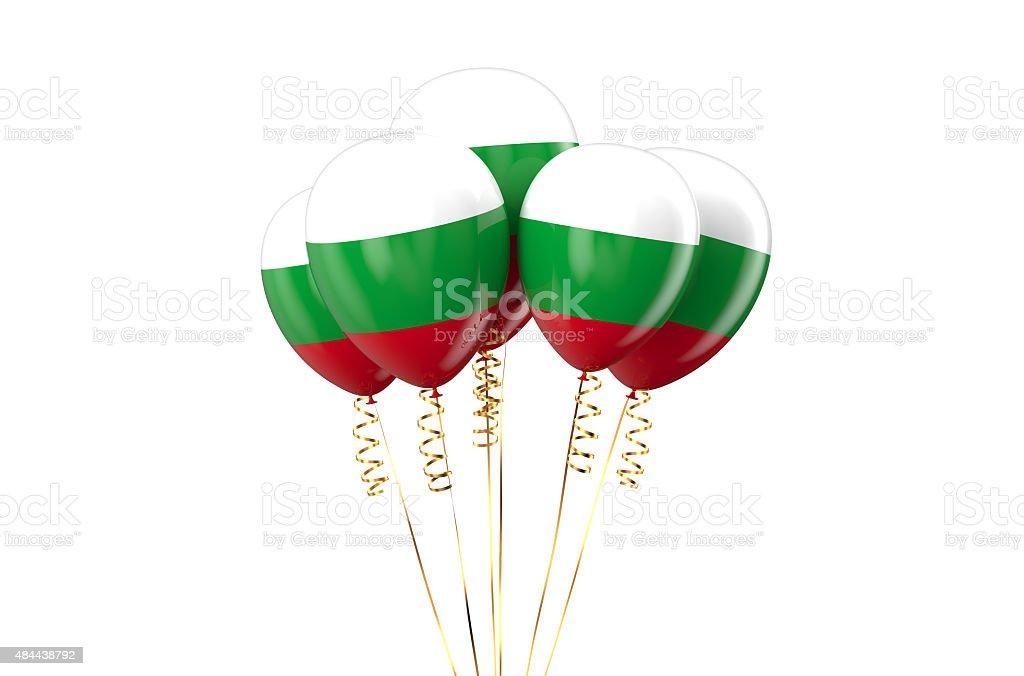 Hungary Republic patriotic balloons holyday concept stock photo