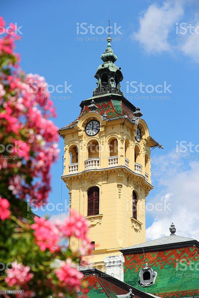 Hungary - Szeged royalty-free stock photo