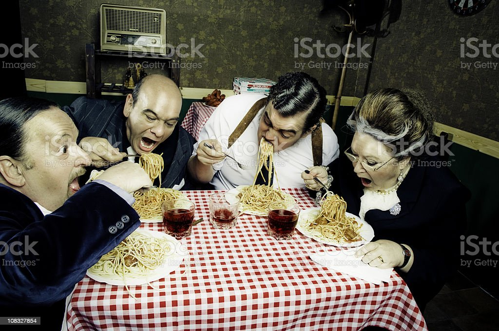 Hunger royalty-free stock photo