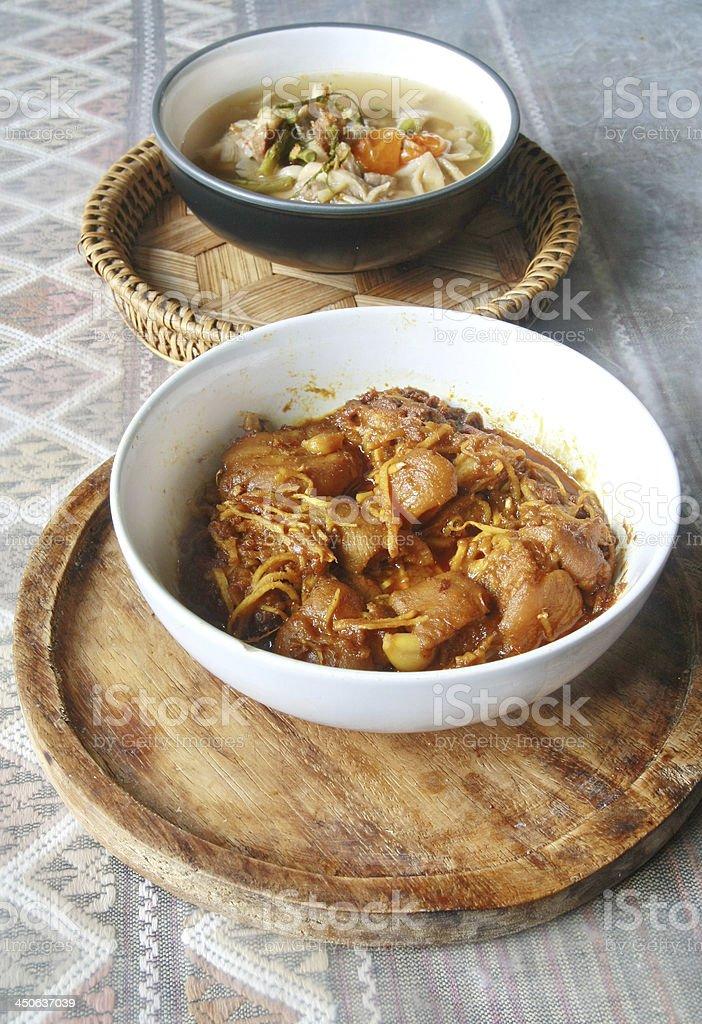 Hunglei curry royalty-free stock photo