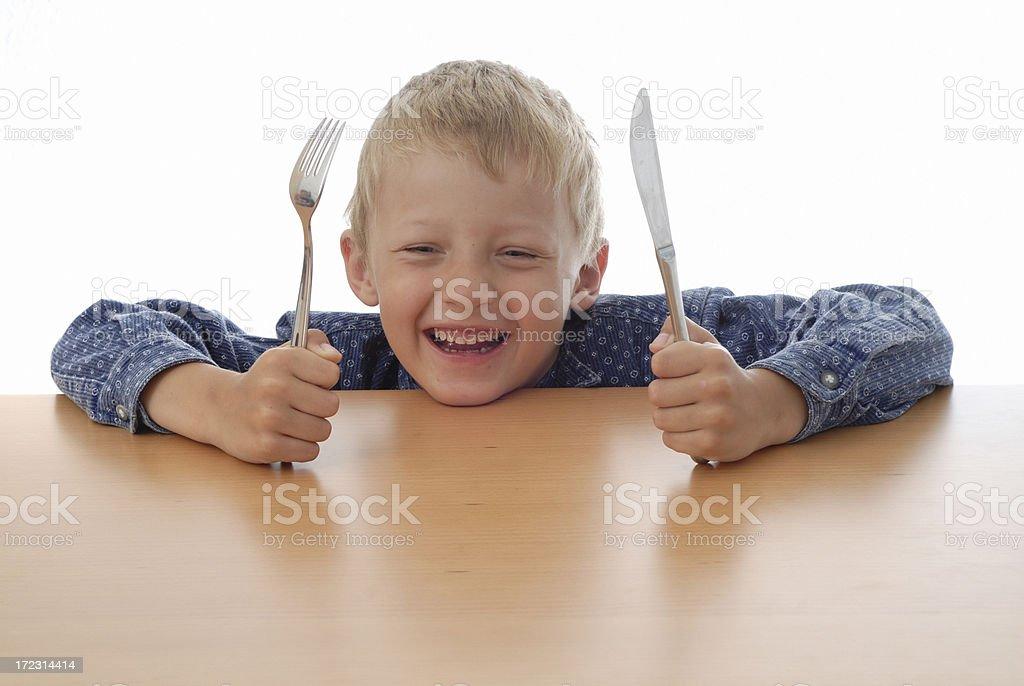 Hungrig Jungen – Foto