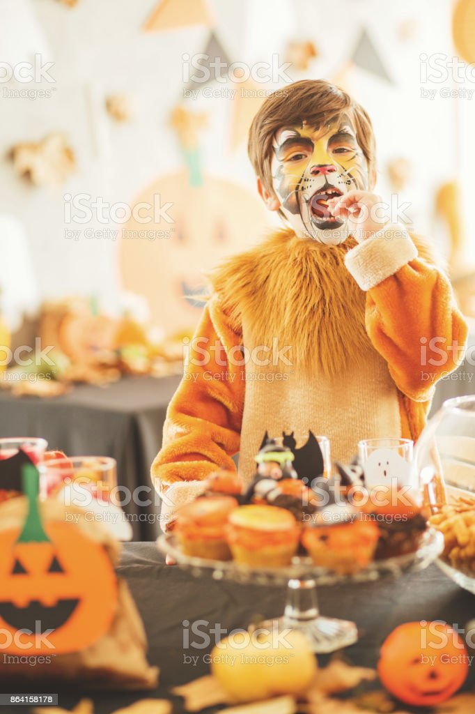 Hungry lion royalty-free stock photo