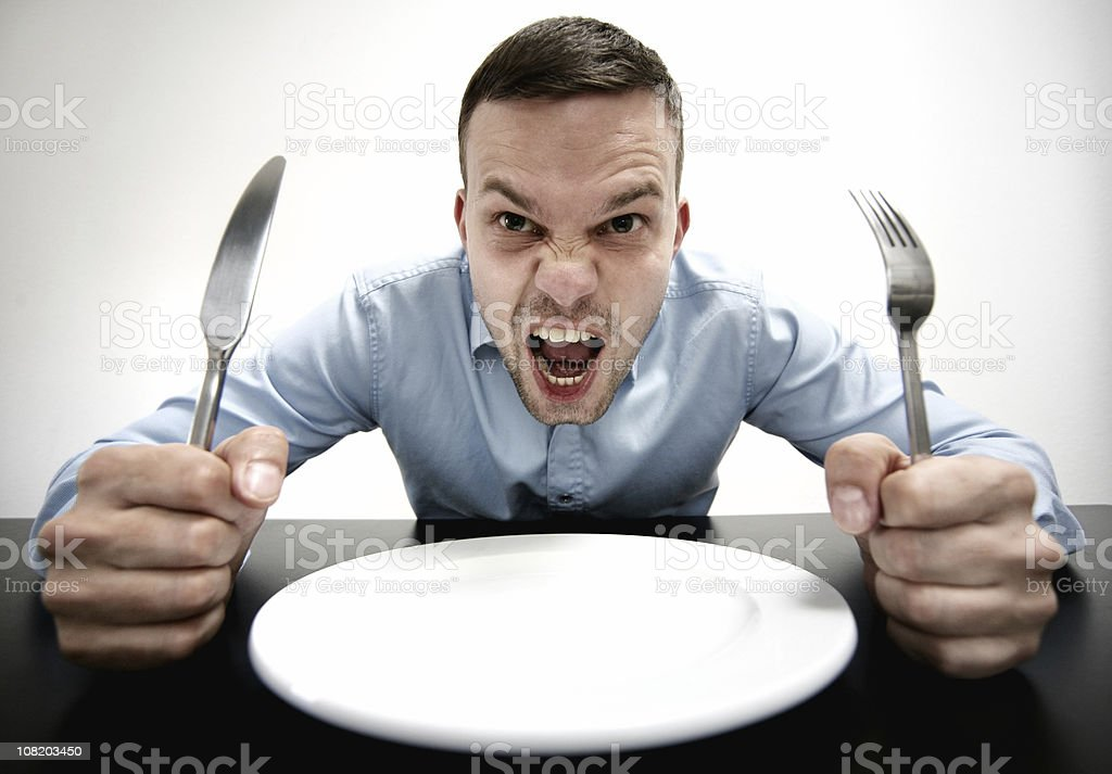Hungry! stock photo
