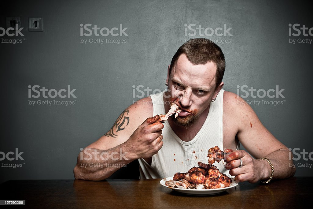 Hungry?! stock photo
