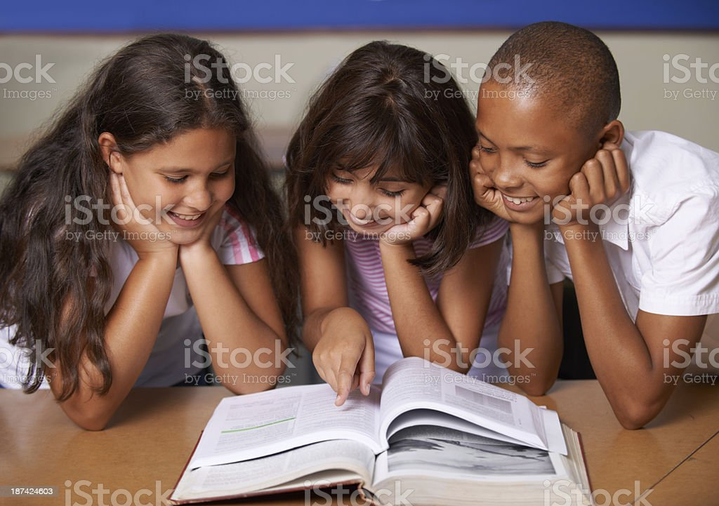 Hungry young minds royalty-free stock photo