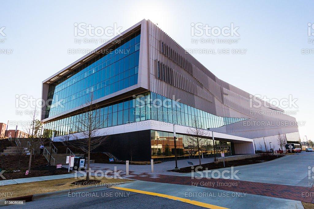 Hunt Library at NCSU stock photo