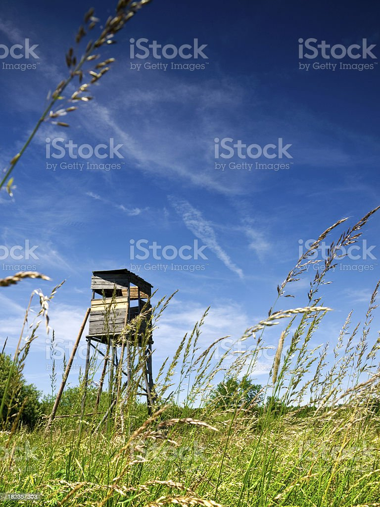 hunter observatory - Royalty-free Agricultural Field Stock Photo