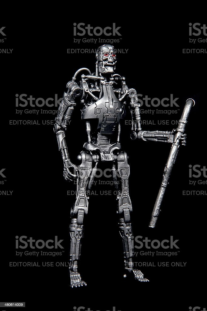 Hunter of Humans stock photo