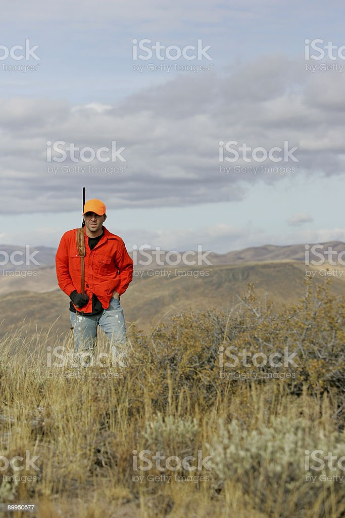 hunter royalty-free stock photo