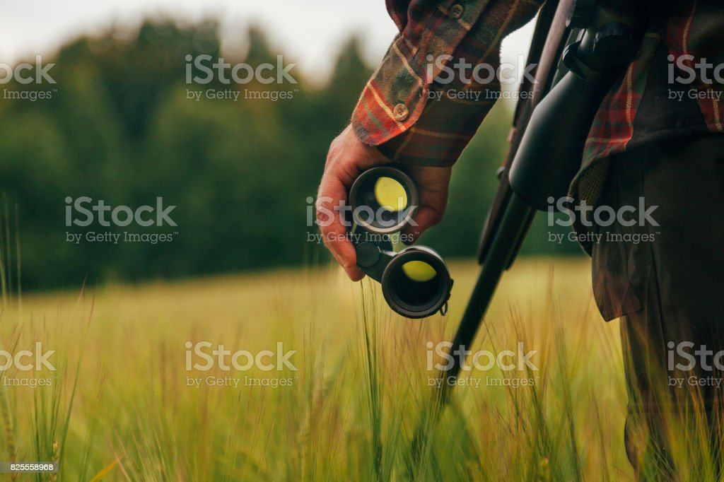 Hunters Day stock photo