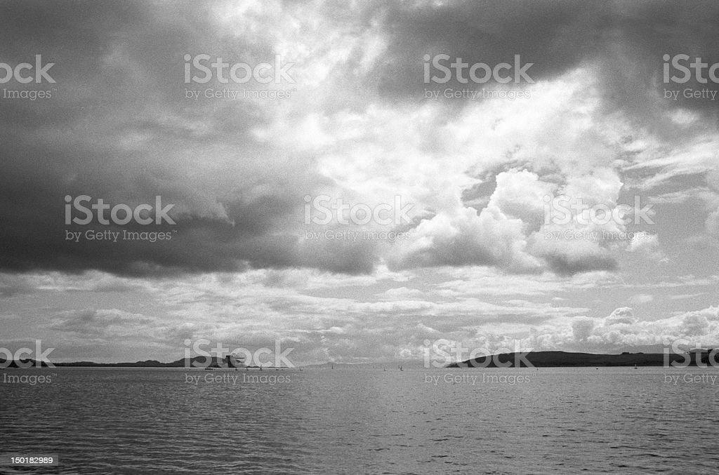 Hunterston and Cumbrae stock photo