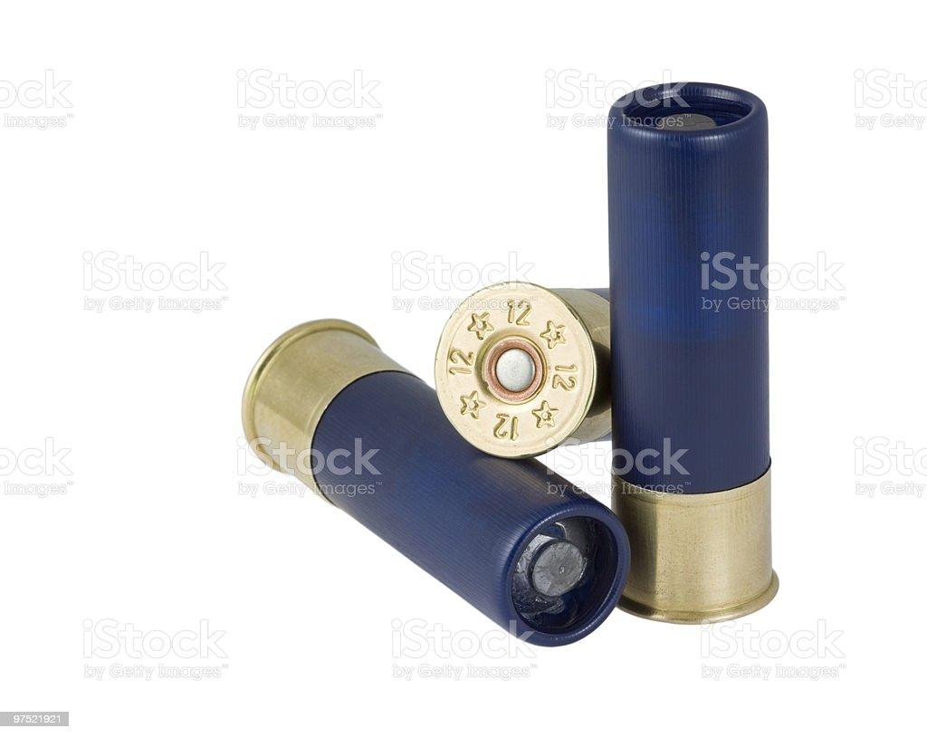 Hunting ammunition. royalty-free stock photo