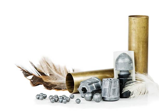 Hunting equipment stock photo