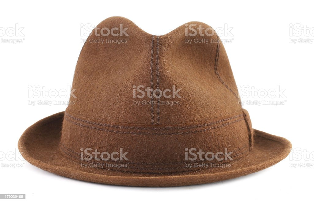 Hunting hat stock photo