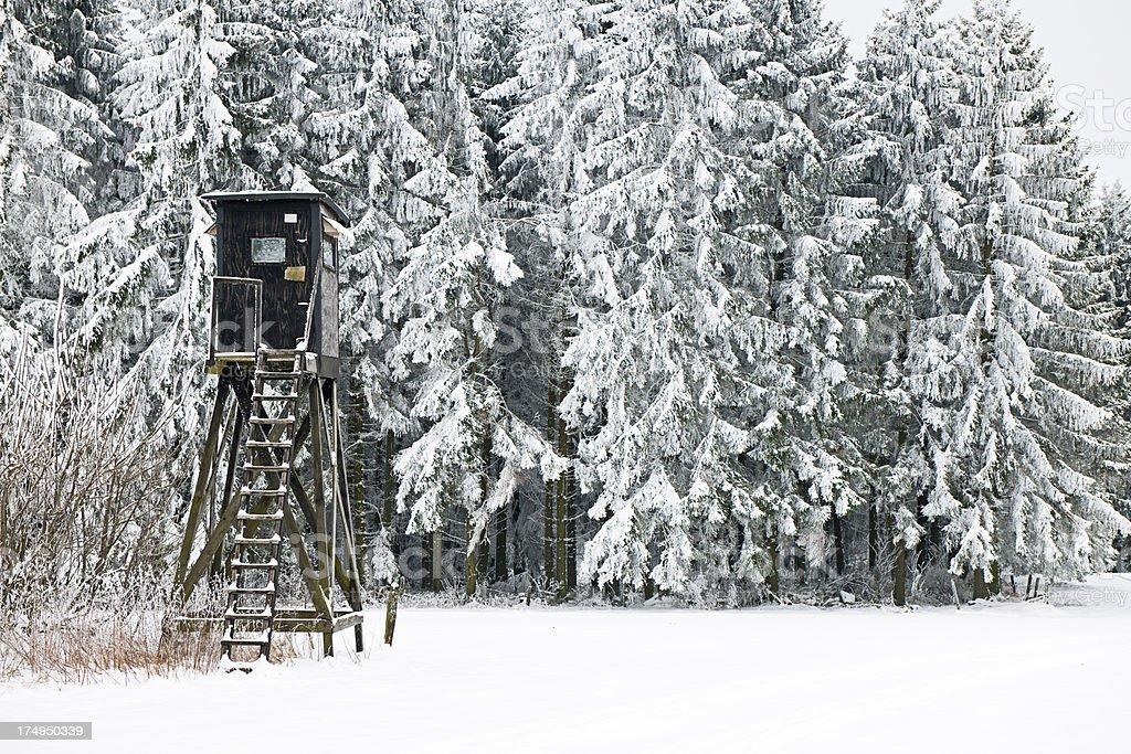 Hunting Lodge royalty-free stock photo