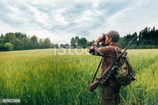 Real hunter, northern Europe