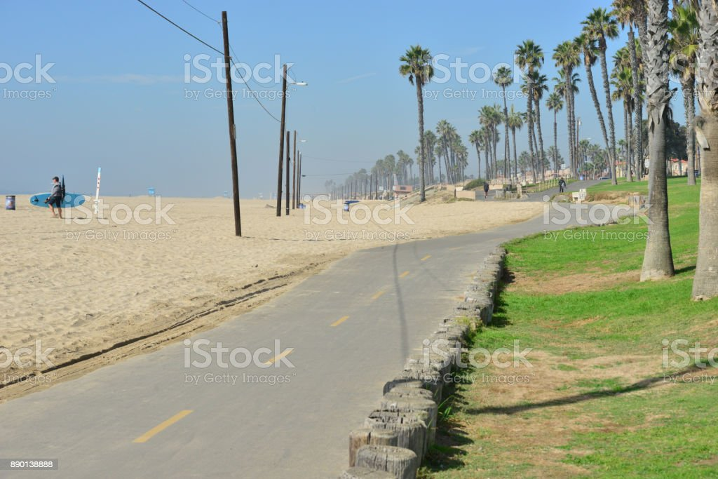 Huntington Beach im Orange County, Kalifornien – Foto