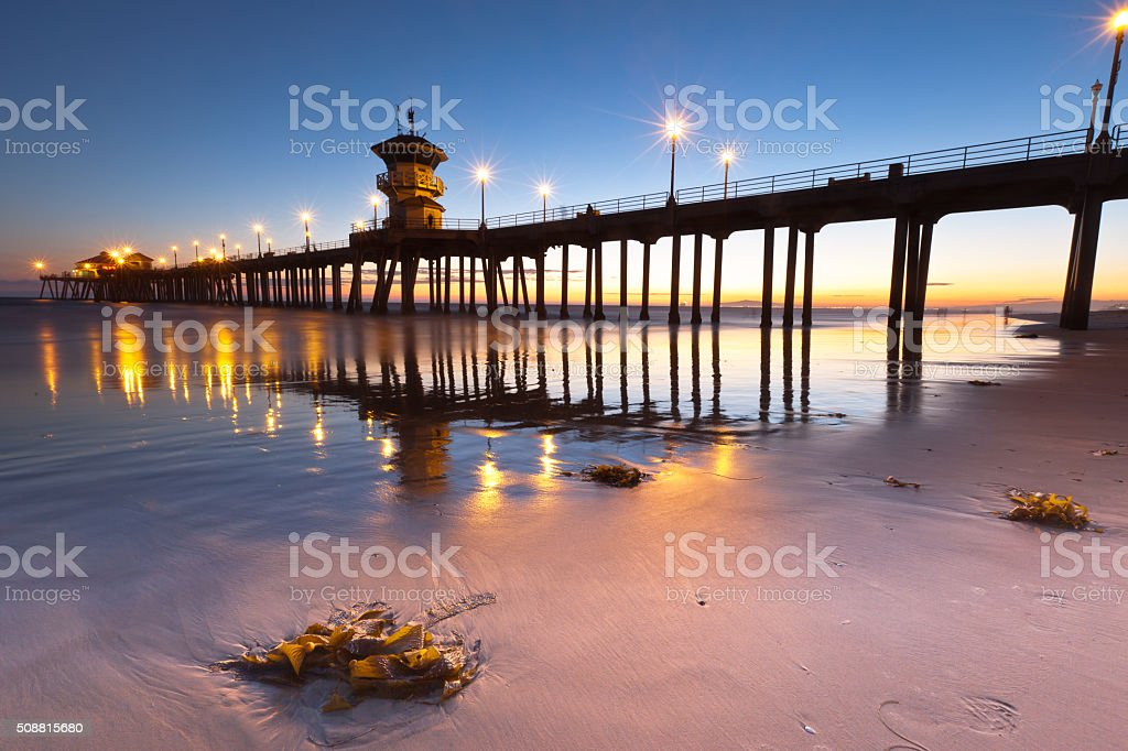 Huntington Beach stock photo