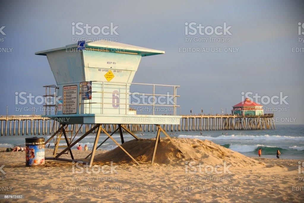 Huntington Beach, United States stock photo