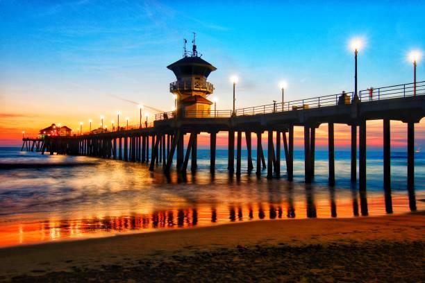 ハンティントン桟橋 - 桟橋 ストックフォトと画像