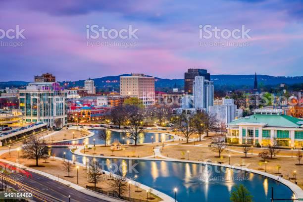 Huntsville Alabama Usa Skyline Stock Photo - Download Image Now