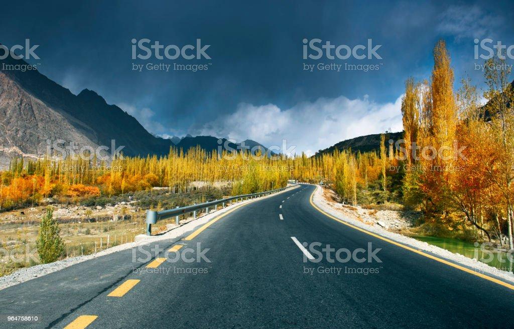 Hunza , Pakistan royalty-free stock photo