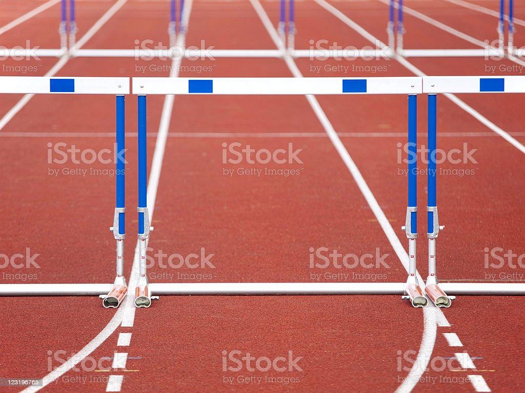 Hurdle royalty-free stock photo
