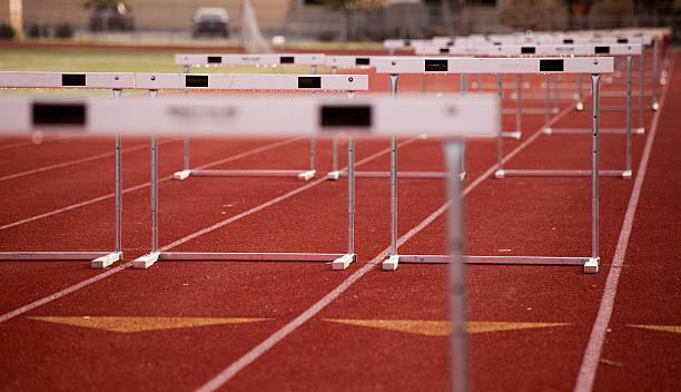 Obstáculos ângulo - foto de acervo