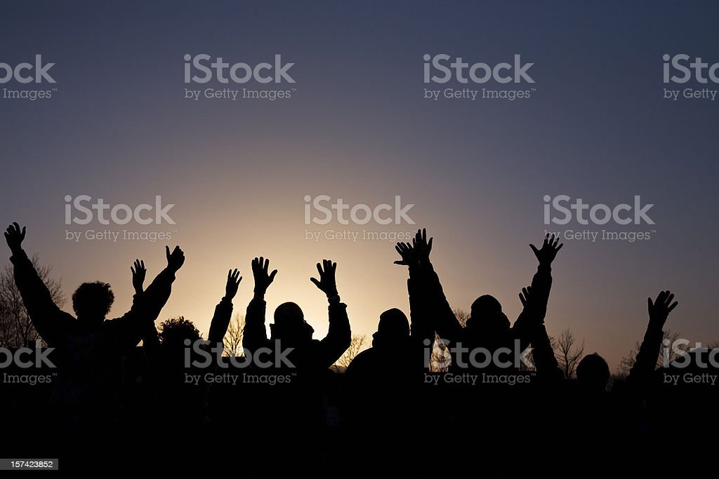 Hurrah !!! royalty-free stock photo