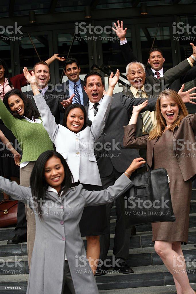 Hurray! royalty-free stock photo