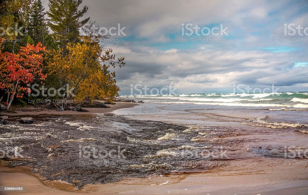 Hurrican River stock photo