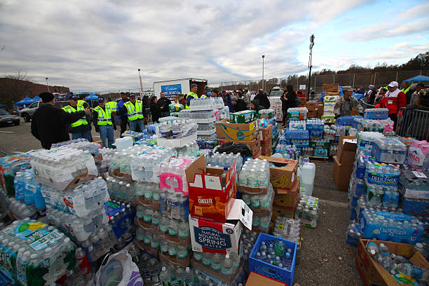 hurrican sandy relief, staten island - natural disaster stock pictures, royalty-free photos & images
