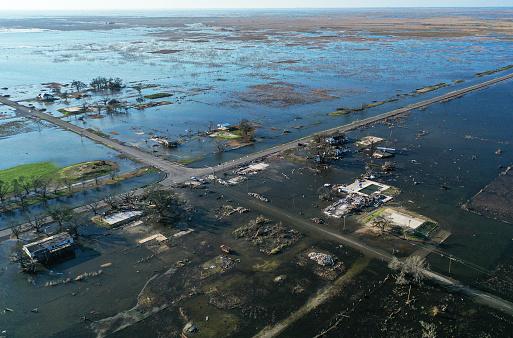 Hurricane Delta causes damage to Louisiana's Gulf Coast
