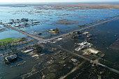 istock Hurricane Delta causes damage to Louisiana's Gulf Coast 1282387405