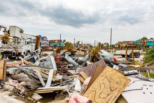 Hurricane Harvey damage by hurricane Harvey taken just days after the storm. 2017 stock pictures, royalty-free photos & images
